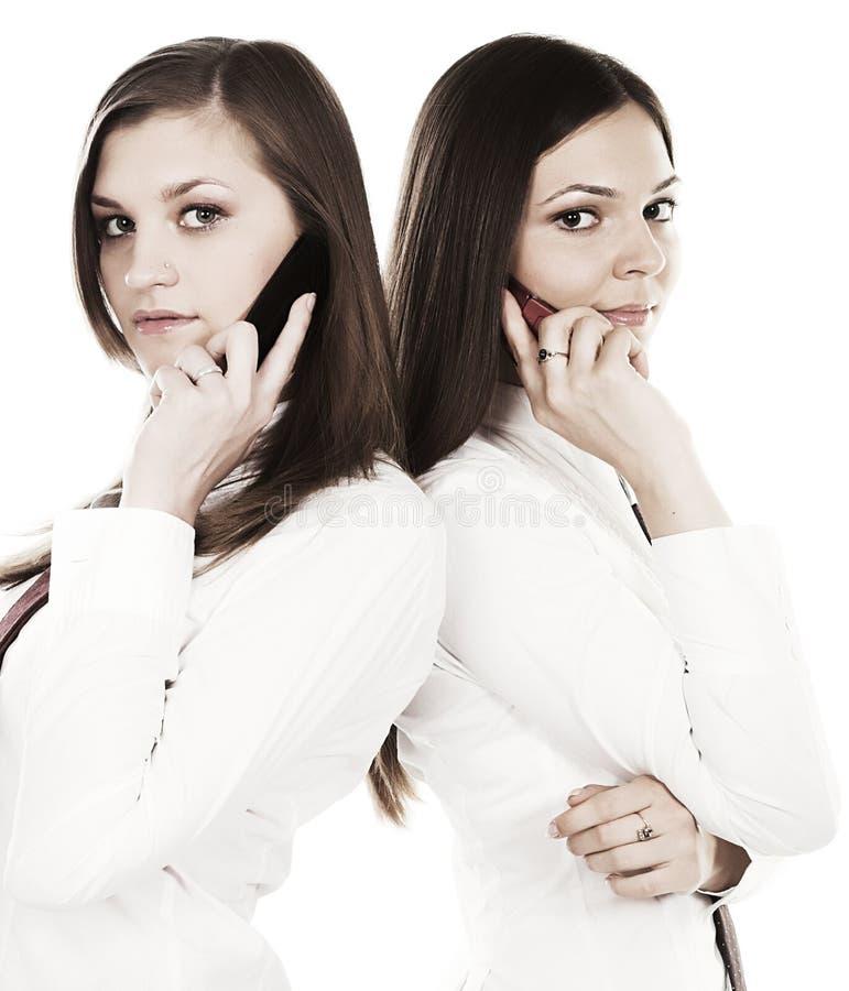 dwie kobiety interesu zdjęcia royalty free