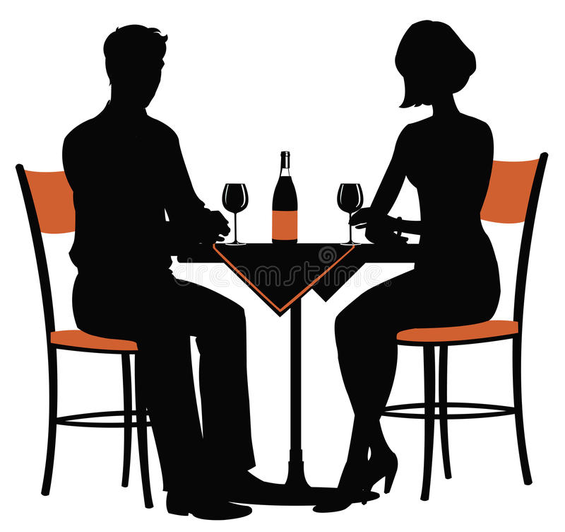 - dwie kolację ilustracji