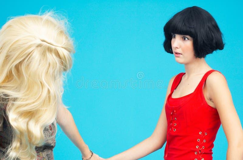 dwie nastolatki zdjęcia royalty free