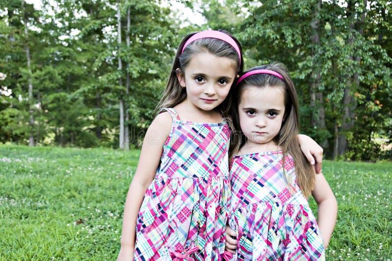 dwie siostry obraz stock