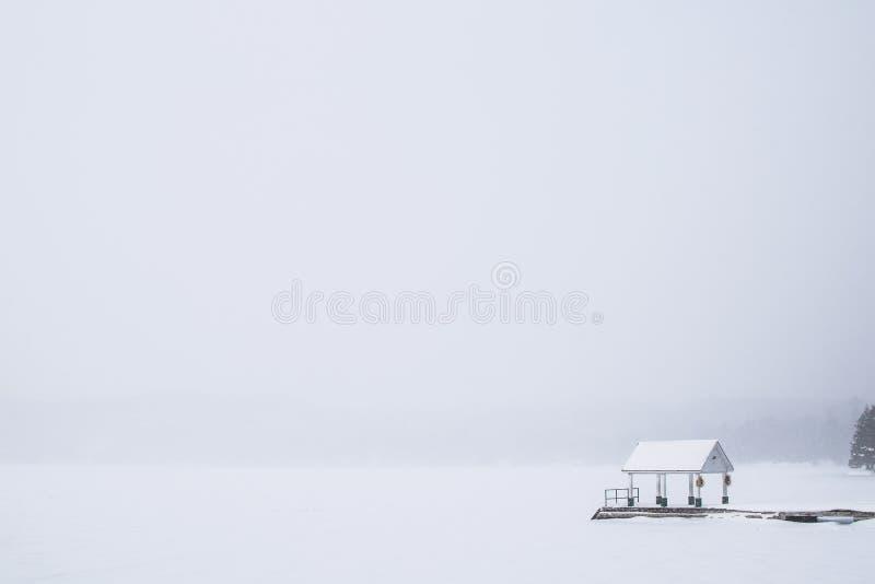 Dwight Beach - Whiteout imagem de stock