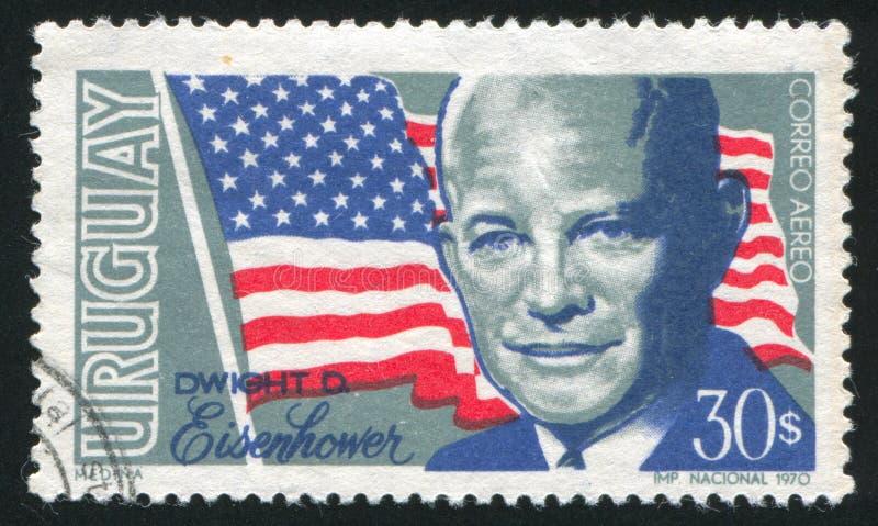Dwight David Eisenhower fotografia stock