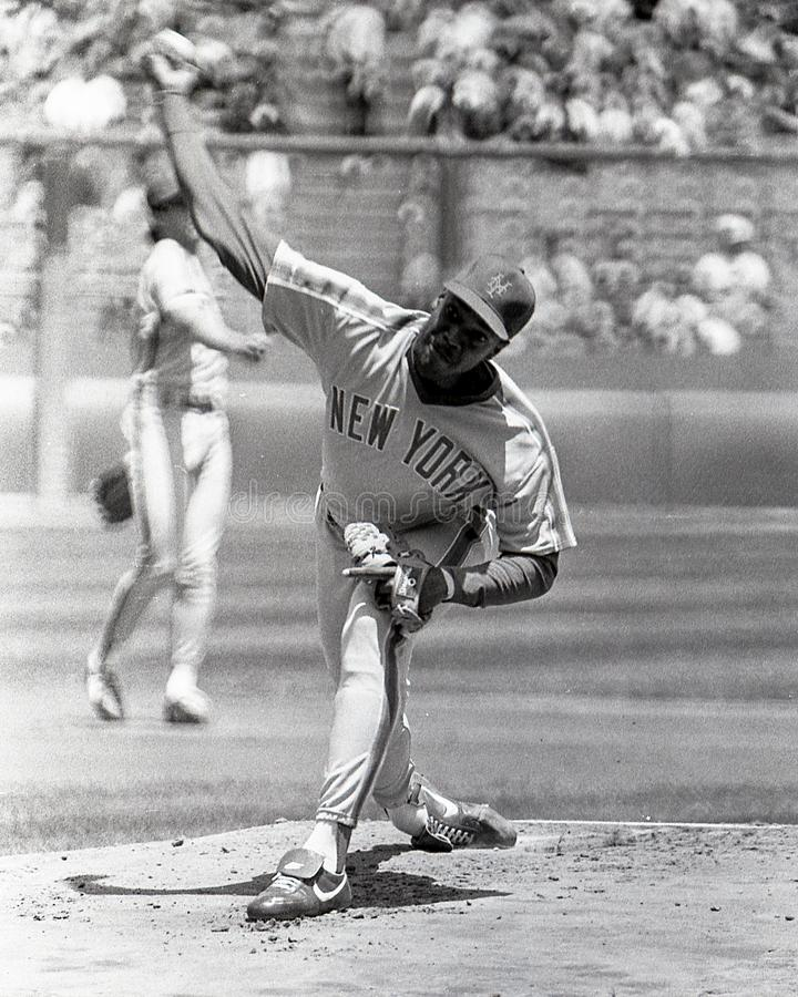 Dwight Doc Gooden New York Mets royaltyfria bilder