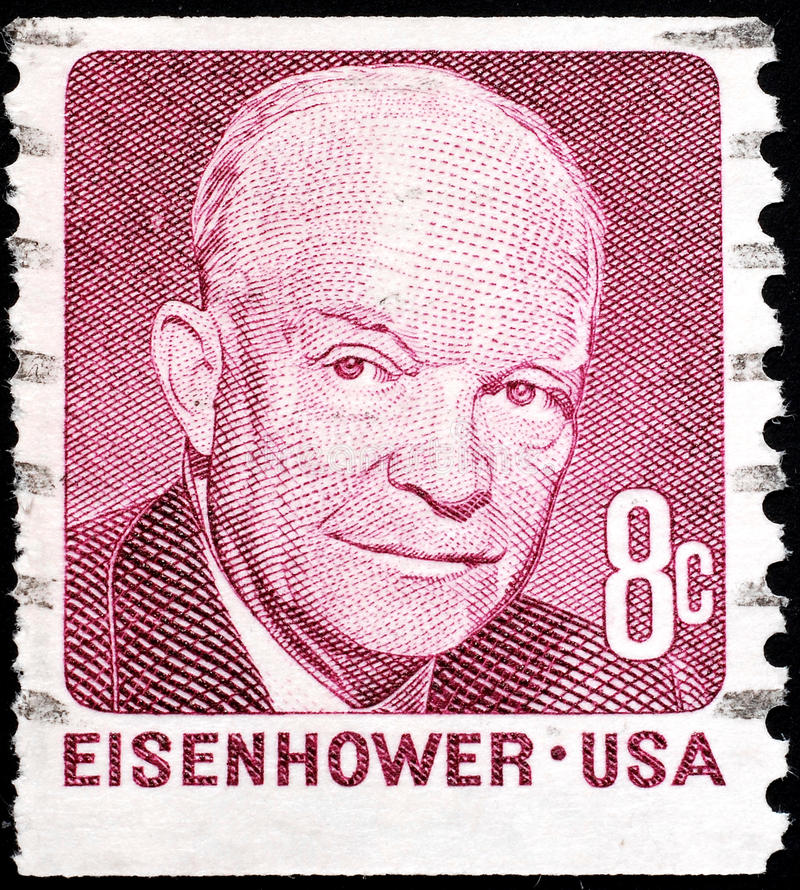 Dwight Eisenhower stock photos