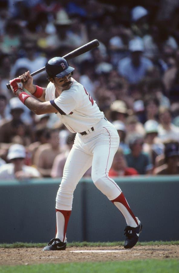 Dwight Evans av Bostonet Red Sox royaltyfria foton