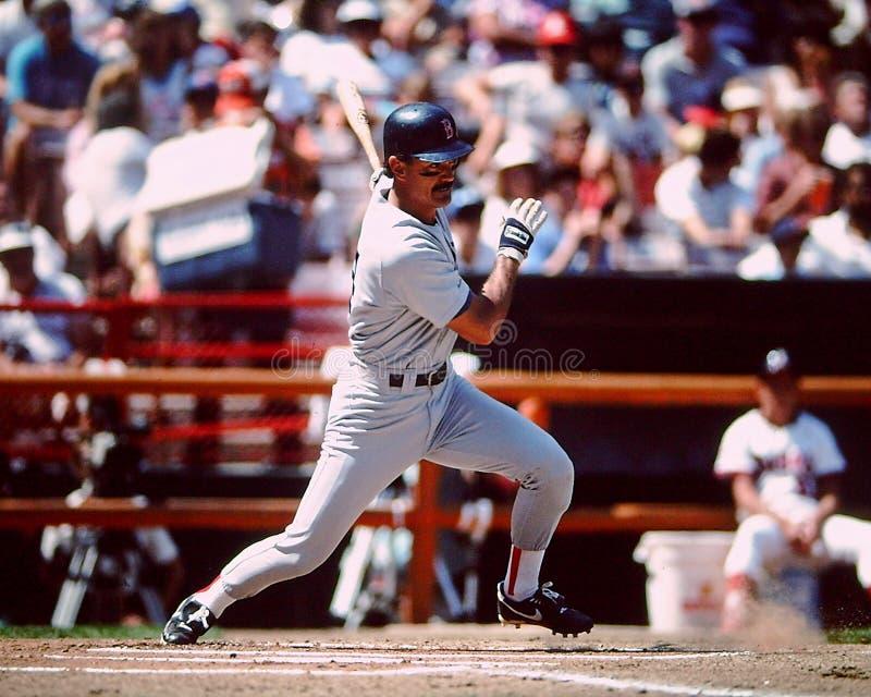 Dwight Evans Boston Red Sox stockbild