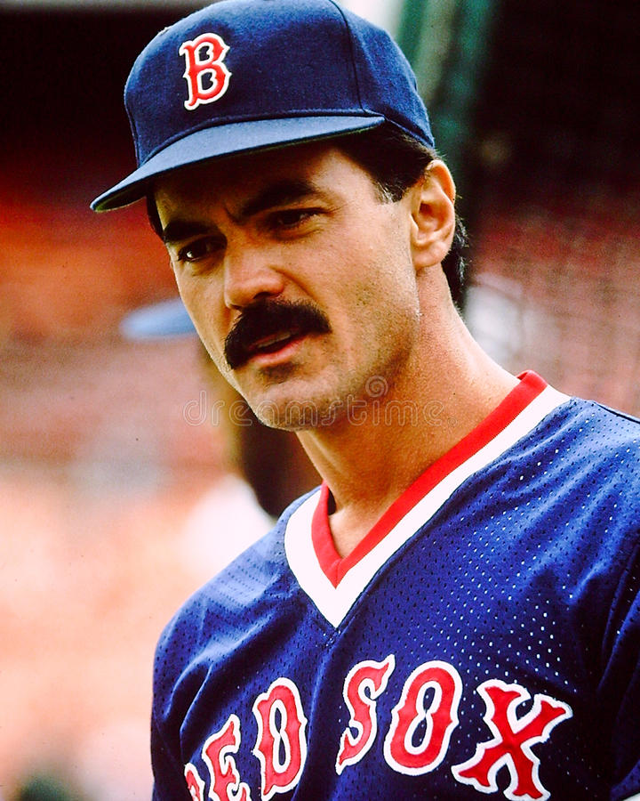 Dwight Evans Boston Red Sox royalty-vrije stock afbeeldingen