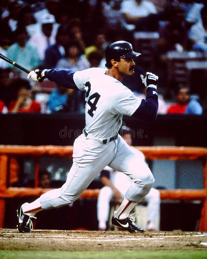 Dwight Evans Boston Red Sox stockfoto