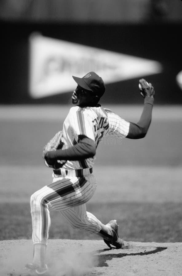 Dwight Gooden New York Mets royaltyfri bild