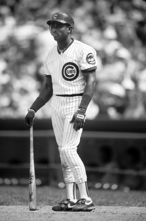 Dwight Smith Chicago Cubs arkivbilder
