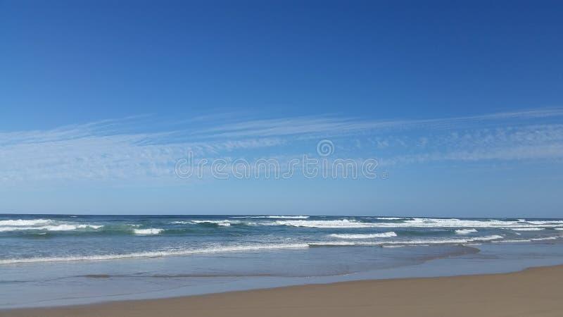Dwoista wyspa punktu plaża obrazy royalty free