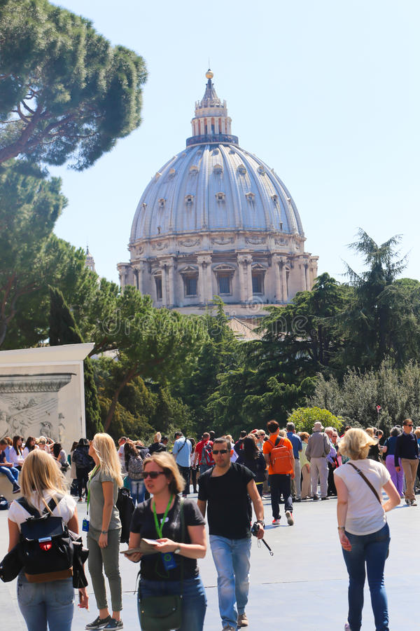 dwoistego helix Italy muzealny Rome schody Vatican zdjęcia stock