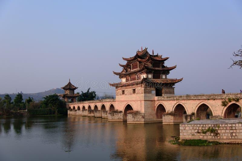 Dwoisty smoka most obrazy royalty free