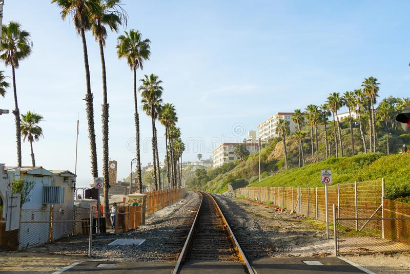 Dworca San Clemente molo fotografia stock
