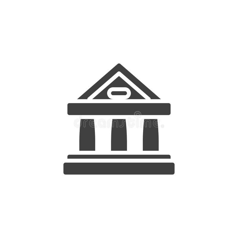 dworska budynku wektoru ikona ilustracja wektor