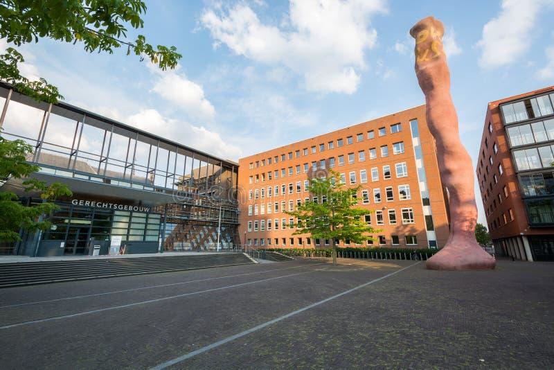 Dworski Midden-Nederland przegląd obrazy stock