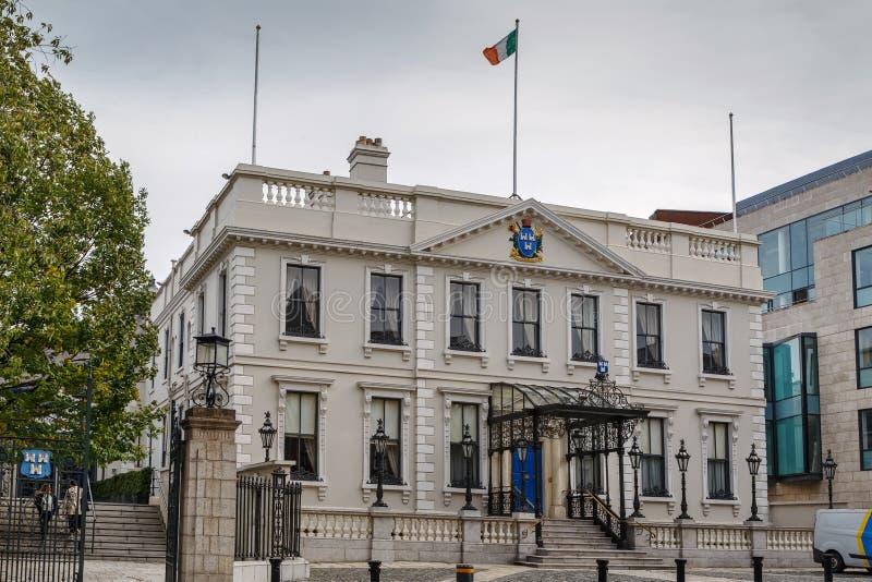 Dworu dom, Dublin, Irlandia obrazy royalty free