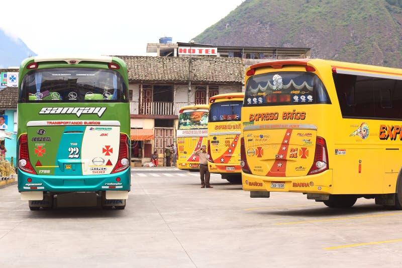 Dworzec Autobusowy w Banos, Ekwador obraz stock
