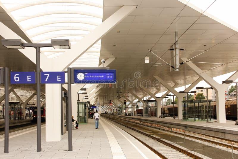 Dworzec Berchtesgaden Niemcy obraz royalty free