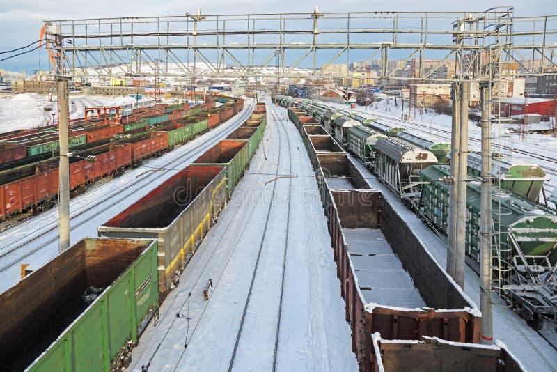 Dworzec Murmansk zdjęcie stock