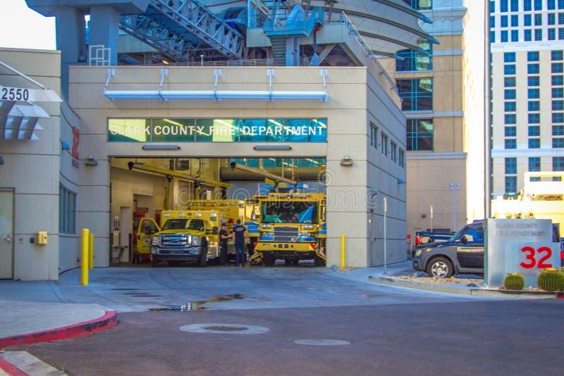 Dworzec Ognia W Las Vegas Nevada obrazy royalty free