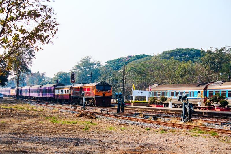 Dworzec, Tajlandia zdjęcie stock