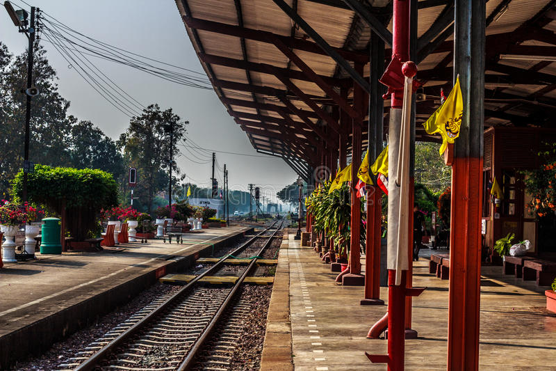 Dworzec, Tajlandia fotografia stock