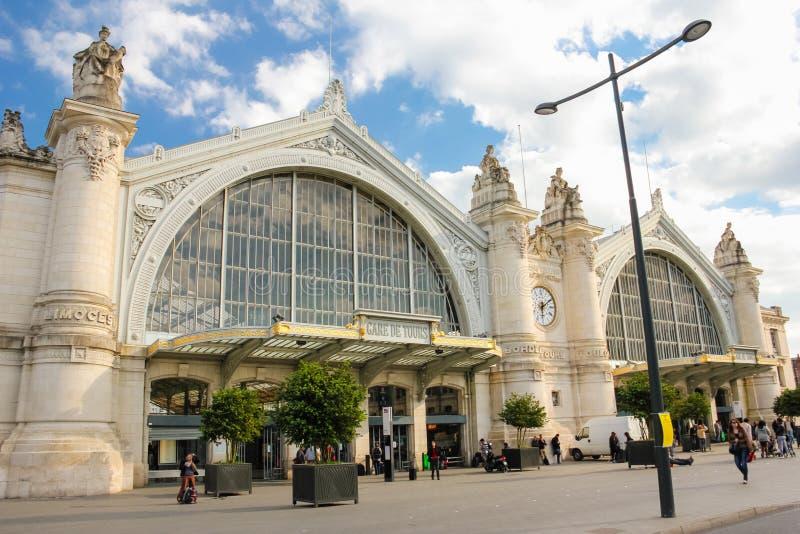 Dworzec tours Francja zdjęcie royalty free