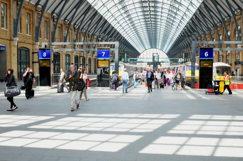 Dworzec w Londyn, UK obraz stock