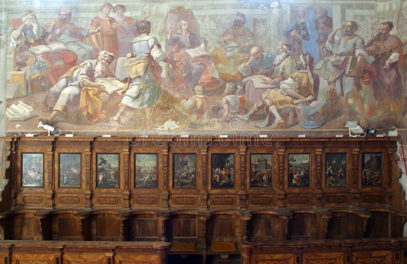 Dwunastoletni Jezus w świątyni obraz stock