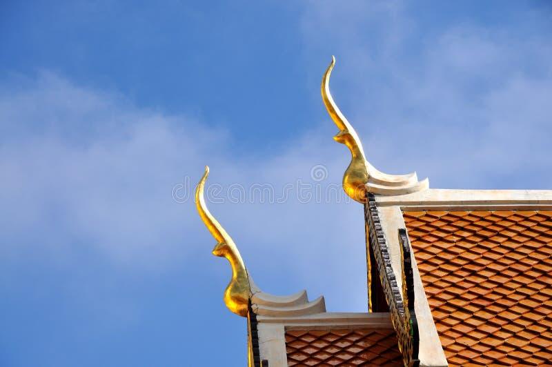 Dwuokapowy apeksu dach obrazy stock