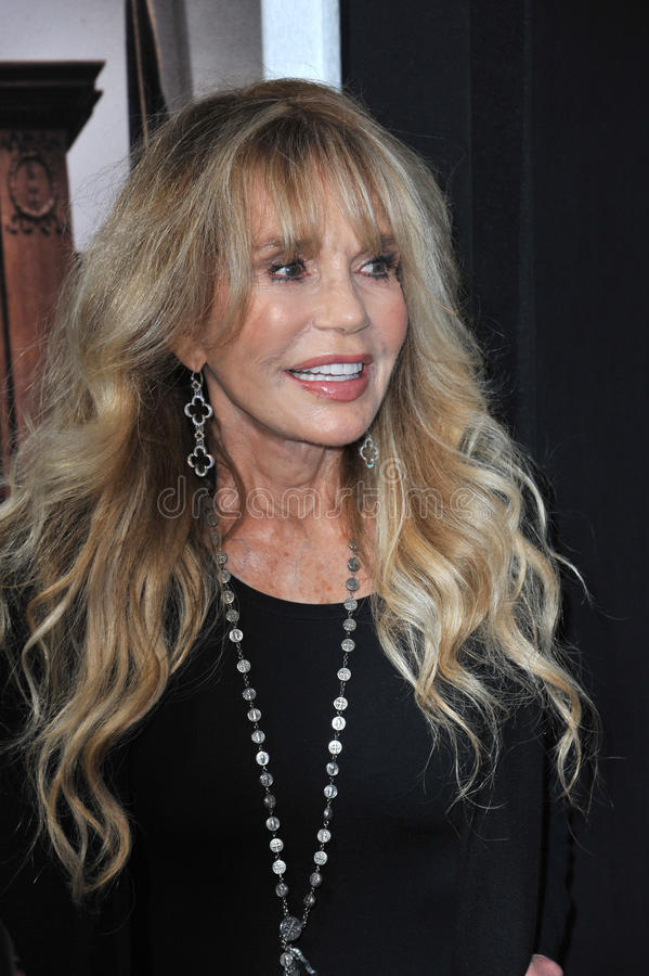 Dyan Cannon. LOS ANGELES, CA - OCTOBER 1, 2014: Dyan Cannon at the Los Angeles premiere of The Judge at the Samuel Goldwyn Theatre, Beverly Hills royalty free stock photography