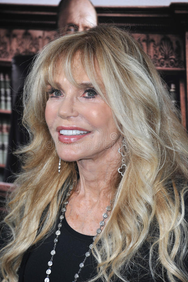 Dyan Cannon. LOS ANGELES, CA - OCTOBER 1, 2014: Dyan Cannon at the Los Angeles premiere of The Judge at the Samuel Goldwyn Theatre, Beverly Hills stock photos