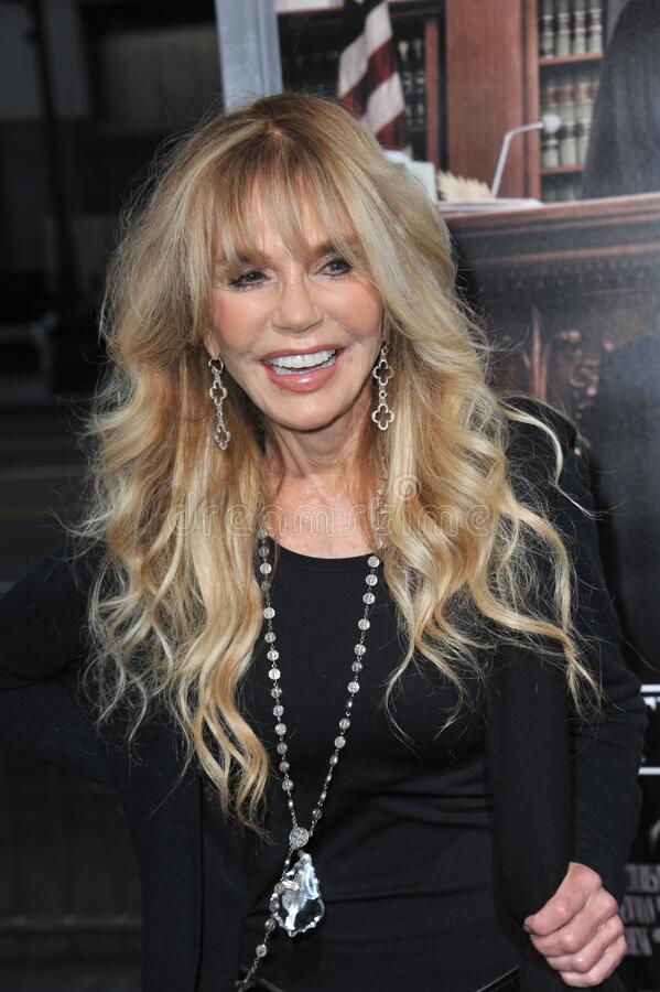 Dyan Cannon. LOS ANGELES, CA - OCTOBER 1, 2014: Dyan Cannon at the Los Angeles premiere of \'The Judge\' at the Samuel Goldwyn Theatre, Beverly Hills royalty free stock images
