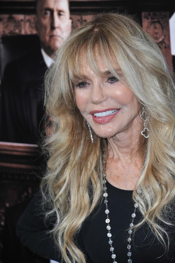Dyan Cannon. LOS ANGELES, CA - OCTOBER 1, 2014: Dyan Cannon at the Los Angeles premiere of \'The Judge\' at the Samuel Goldwyn Theatre, Beverly Hills stock photography