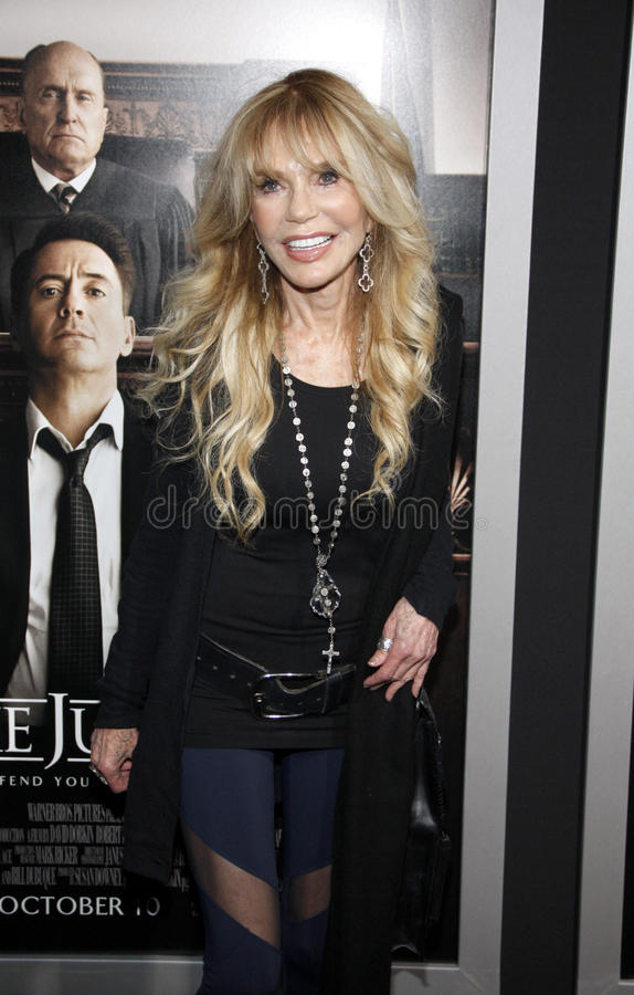 Dyan Cannon. At the Los Angeles premiere of 'The Judge' held at the AMPAS Samuel Goldwyn Theater in Los Angeles on October 1, 2014 in Los Angeles, California royalty free stock photos