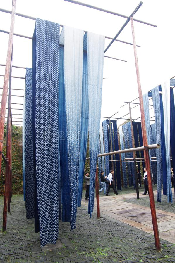 Download Dyeing cloth editorial image. Image of step, cloth, pole - 23396810