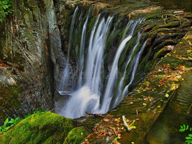Dyfi Furnace Falls, Ceredigion royalty free stock image