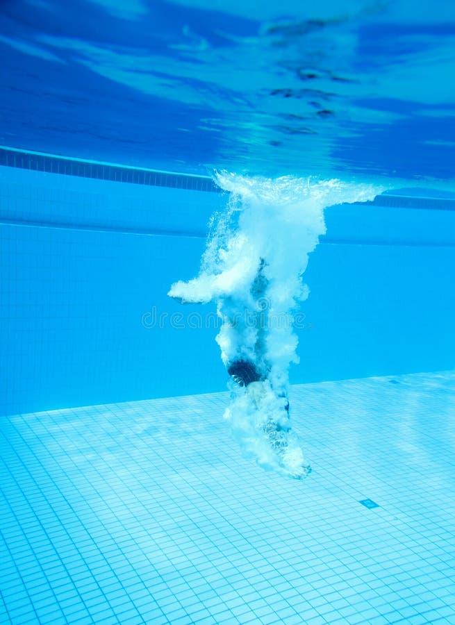Download Dykareplattform Under Vatten Arkivfoto - Bild av sunt, kallt: 19785910