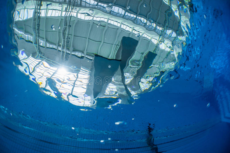 Dykningpöl royaltyfri foto