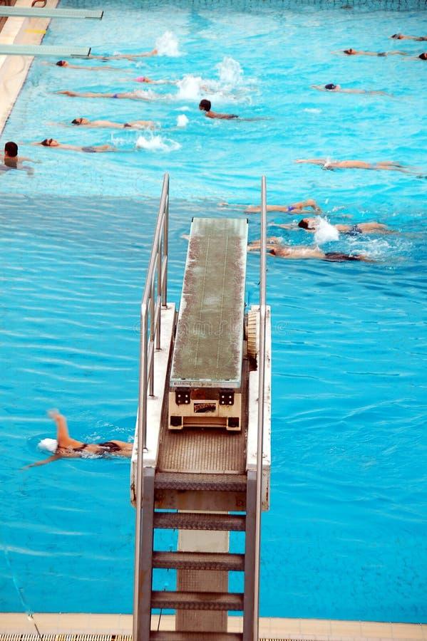 dykningplattform arkivfoton