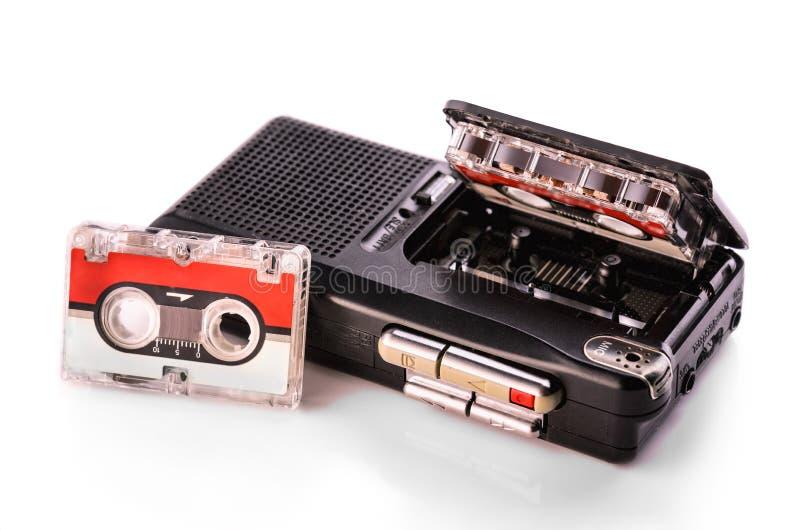 Dyktafon zdjęcie stock