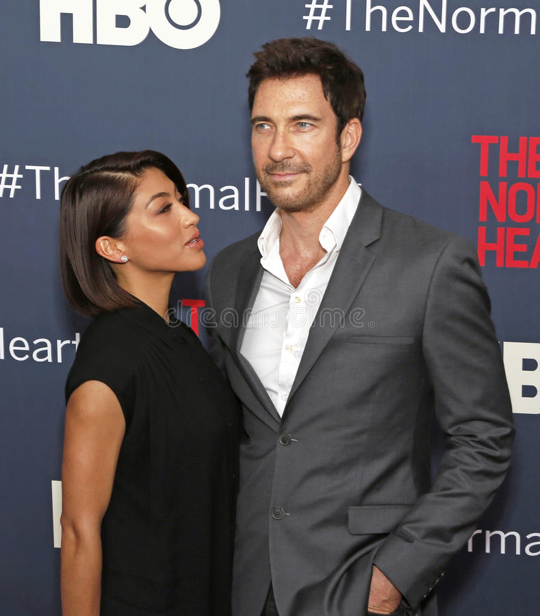 Dylan Mcdermott lizenzfreie stockfotos