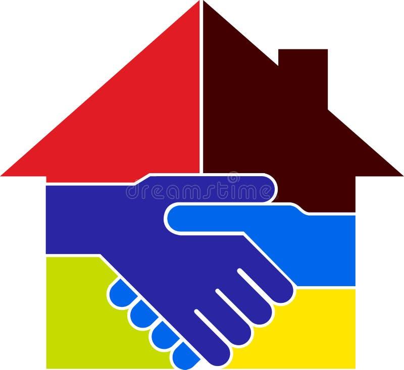 dylowy domowy logo ilustracji