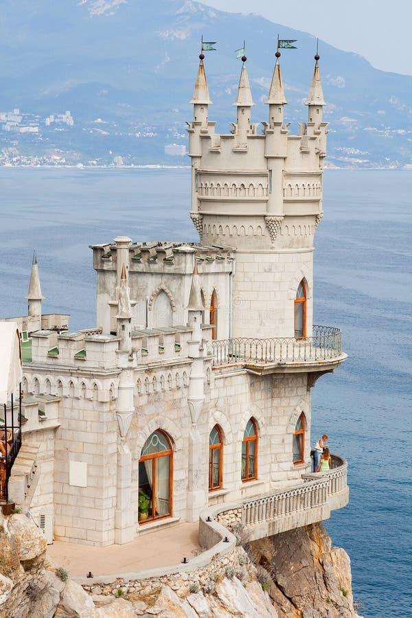 Dymówki gniazdeczka kasztel, Crimea fotografia royalty free