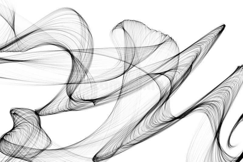 dym abstrakcyjne tło obrazy stock