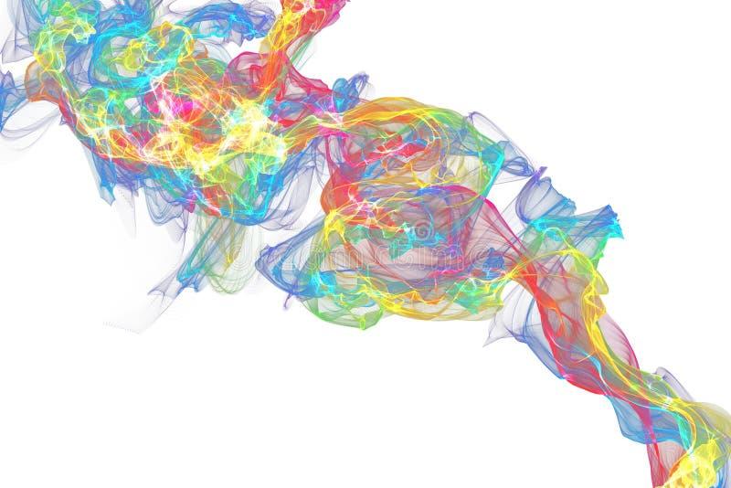 dym abstrakcyjne tło ilustracja wektor