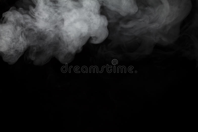 Dym i mgła zdjęcie stock