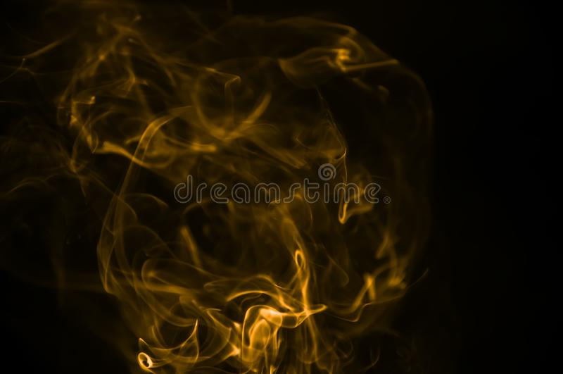 Dym jest kolekcją powietrzni stali i ciekli particulates fotografia stock