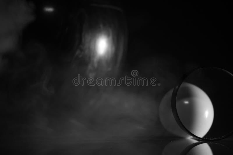Dym, piłki i mały sens twórczość, fotografia stock